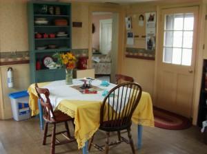 Kitchen at Cloverleaf Farm