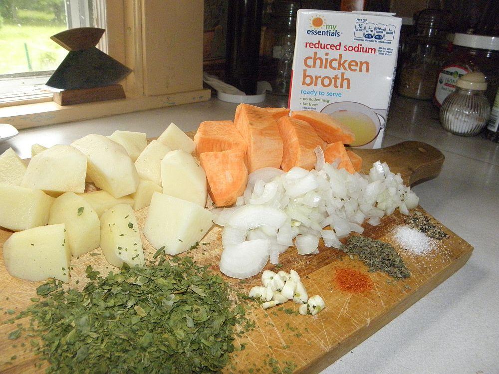 Lemon Balm Chicken Casserole Ingredients