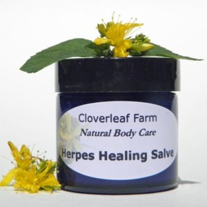 Herpes Healing Salve a herbal, natural treatment for herpes